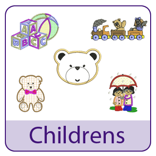 Childrens Embroidery Designs