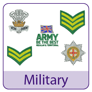 Military Embroidery Designs