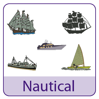 Nautical Embroidery Designs