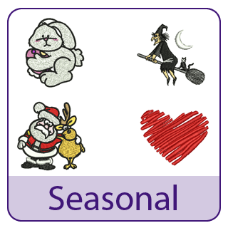 Seasonal Embroidery Designs