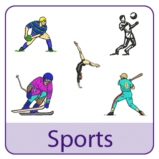 Sports Embroidery Designs