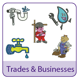 Trades and Business Embroidery Designs